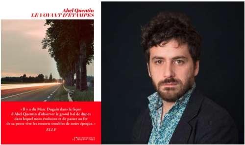 Abel Quentin reçoit le Prix Maison rouge Biarritz 2021 avec Le Voyant d'Étampes