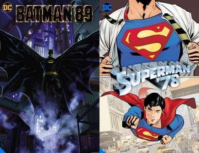 Le Batman de Burton et le Superman de Donner de retour... en comics