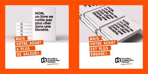 Une campagne nationale et régionale pour célébrer le prix unique du livre