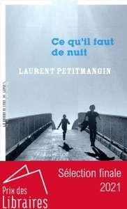 Ce qu'il faut de nuit de Laurent Petitmangin, d'un père à ses fils