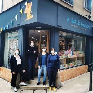 La librairie jeunesse Le chat de gouttière s'installe à Reims