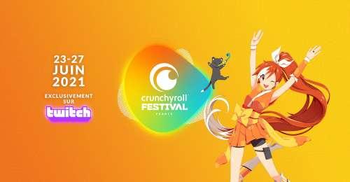 Kazé et Crunchyroll s'associent pour un festival sur Twitch