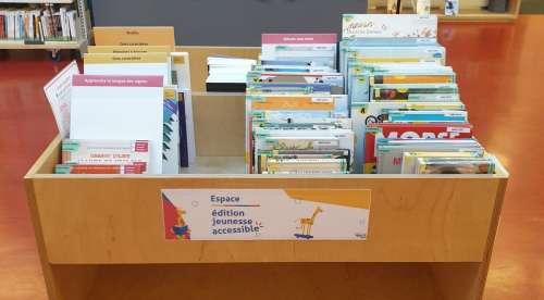 """Accessibilité : """"Pour que tous les enfants puissent accéder facilement à la lecture"""""""