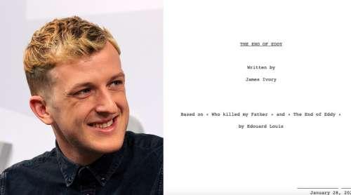 Deux romans d'Édouard Louis adaptés par James Ivory pour la télévision