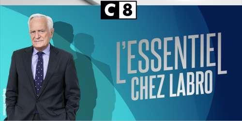 Philippe Labro ouvre son émission, L'Essentiel chez Labro (C8)