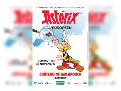 Astérix l'Européen s'arrêtera au Château de Malbrouck en 2021