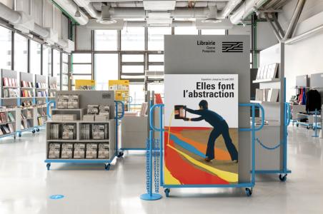 Paris : une nouvelle librairie, mobile et colorée, au Centre Pompidou