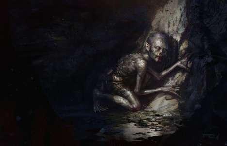 Première lecture du Seigneur des anneaux par Gollum