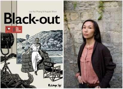 Loo Hui Phang, scénariste de Black-out, reçoit le prix René Goscinny 2021