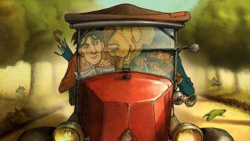 Sylvain Chomet à l'oeuvre sur un film d'animation consacré à Marcel Pagnol