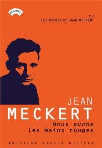 Jean Meckert, Prix Mémorable des librairies Initiales 2020
