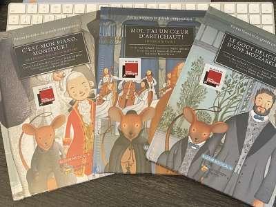 Mozart, Vivaldi, Tchaïkovski :Petites histoires de grands compositeurs