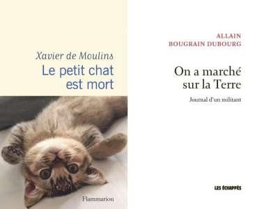 Xavier de Moulins et Allain Bougrain-Dubourg, lauréats du Prix 30 Millions d'Amis