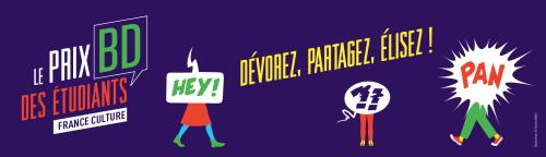 Prix France Culture BD des étudiants 2021 : 5 BD en lice