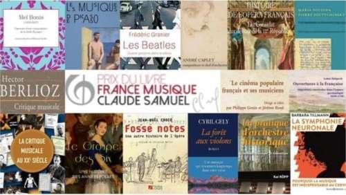 Prix du livre France Musique Claude Samuel 2021 : 15 nominés