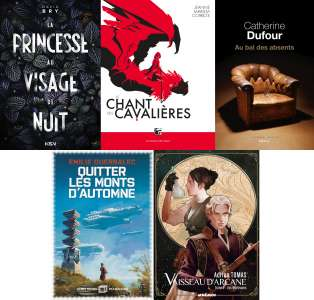 Cinq romans dans la sélection du Prix Imaginales des Bibliothécaires 2021