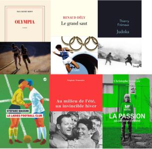 La sélection du Prix Jules Rimet 2021 : 6 livres retenus