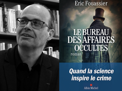 Éric Fouassier, lauréat du Prix Maison de la Presse 2021