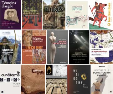 Une première sélection pour les Prix livre et BD d'Archéologie 2021