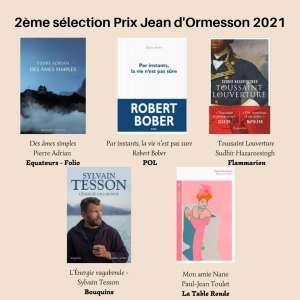 Nouvelle sélection : cinq ouvrages en lice pour le Prix Jean d'Ormesson 2021