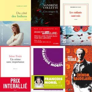 6 ouvrages sélectionnés pour le Prix Ginkgo du Livre Audio 2021