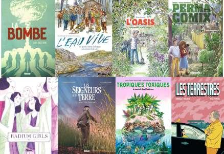 8 albums finalistes pour le Prix Tournesol de la BD engagée 2021
