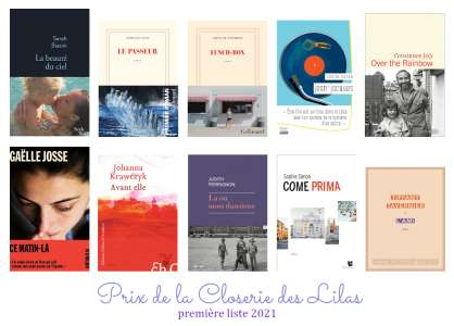 Prix de la Closerie des Lilas 2021 : 10 titres retenus en première sélection