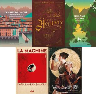 La sélection du Prix Imaginaire2021de La 25e Heure du Livre