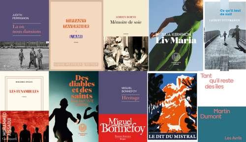 10 romans sélectionnés pour l'édition 2021 du Prix des Libraires