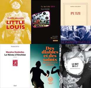 6 titres sélectionnés pour le Prix Livres et Musiques 2021