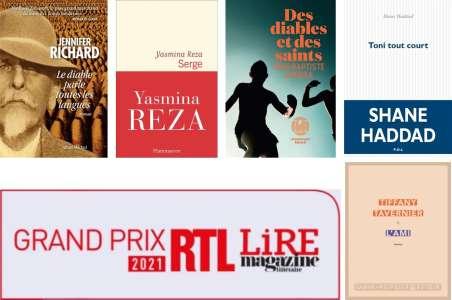 5 ouvrages en lice pour la seconde sélection du Prix RTL-Lire 2021