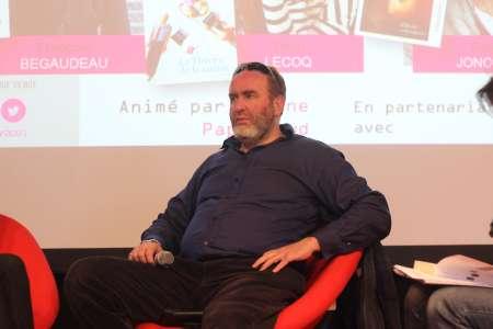 La 6e édition du Prix Landerneau des lecteurs, en 2021, avec Serge Joncour