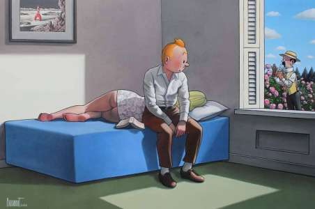 Un Tintin érotisé relève bien de la parodie, affirme la justice