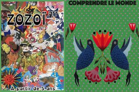Zozoï GRR, une revue antiraciste et anticapitaliste pour les enfants