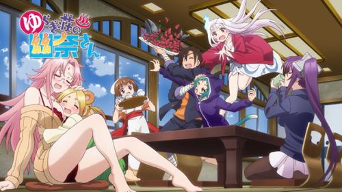 L'anime Yuragi-sou no Yuuna-san OAD 3, daté au Japon