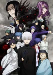 L'anime Tokyo Ghoul:Re Saison 2, en Visual Art