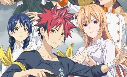 L'anime Food Wars:Shokugeki no Soma Saison 4, en Publicité Vidéo