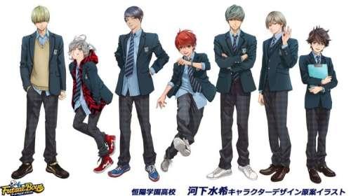 L'anime Futsal Boys!!!!!, annoncé