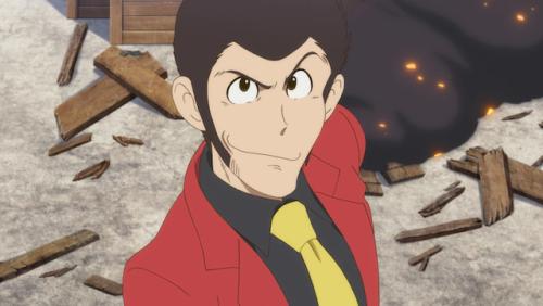 L'anime Lupin III : Prison of the Past, daté au Japon