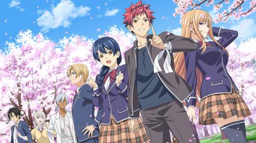 L'anime Food Wars: Shokugeki no Soma Saison 5, en Visual Art