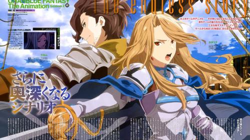 L'anime Granblue Fantasy Saison 2 Djeeta-hen, daté au Japon