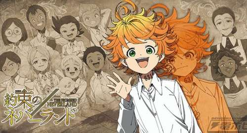 L'anime The Promised Neverland Saison 2, daté au Japon