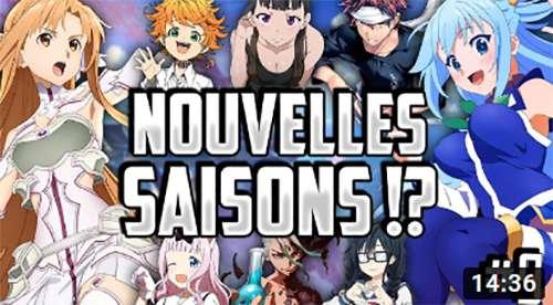 AnimeNews Vidéo #9 : Récap des infos Anime & Manga par Aleka (Décembre 2019)