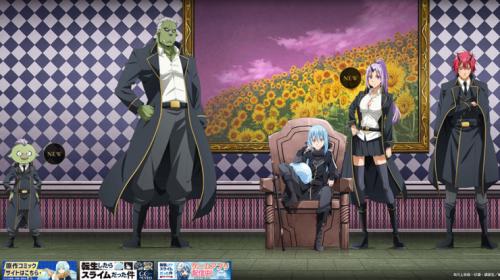 L'anime Tensei Shitara Slime Datta Ken OAD 4 & OAD 5, datés au Japon
