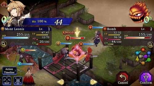 Le tactical-RPG War of the Visions: Final Fantasy Brave Exvius, en Trailer