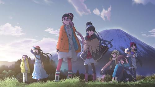 L'anime Yuru Camp Saison 2, daté au Japon