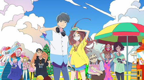 Le film animation Cider no you ni Kotoba ga Wakiagaru, en Trailer
