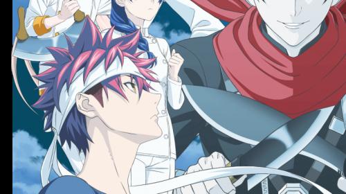L'anime Food Wars: Shokugeki no Soma Saison 5, en Visual Art 2