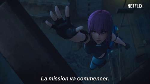 L'anime Ghost in the Shell SAC_2045, en Promotion Vidéo VOSTFR