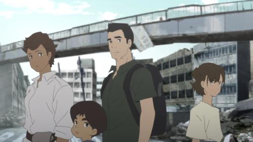 Premières images de l'anime Japan Sinks: 2020